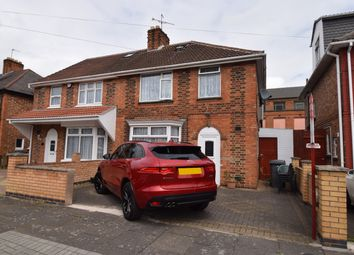 Thumbnail 3 bedroom semi-detached house for sale in Mervyn Road, Evington, Leicester