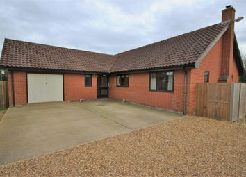 Thumbnail 3 bed detached bungalow for sale in Church Street, Stradbroke, Eye