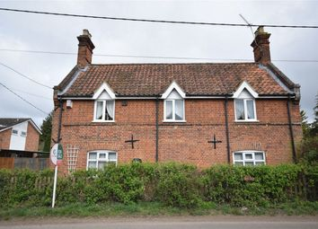 Thumbnail 4 bed cottage for sale in Church Road, Swainsthorpe, Norwich, Norfolk