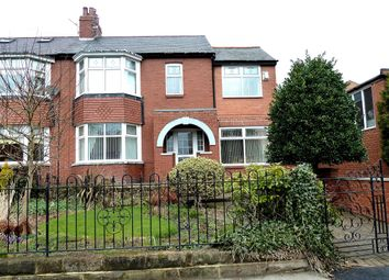 Thumbnail 4 bed semi-detached house to rent in Clovelly Gardens, Bedlington