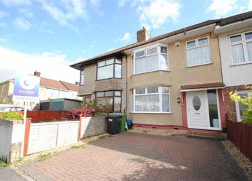 Thumbnail 3 bedroom terraced house for sale in Kipling Road, Northville, Bristol
