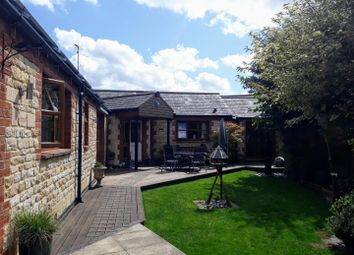 Thumbnail 4 bed detached bungalow for sale in The Green, Ketton, Stamford