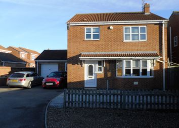 Thumbnail 3 bed detached house for sale in Nursery Close, Thorngumbald, Hull