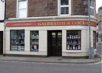 Thumbnail Retail premises for sale in Campbeltown, Argyll And Bute