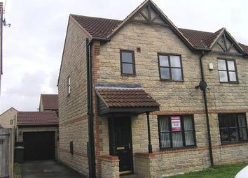 Thumbnail 3 bed semi-detached house to rent in Ivy House Court, Scunthorpe