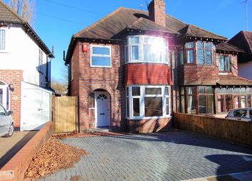Thumbnail 3 bed semi-detached house to rent in Broughton Crescent, Longbridge, Northfield, Birmingham