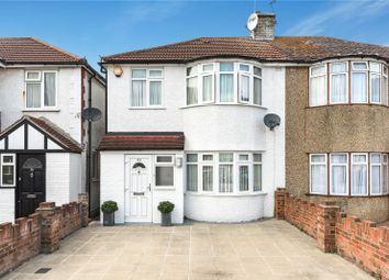Thumbnail 2 bedroom end terrace house for sale in Clyfford Road, Ruislip Gardens, Middlesex