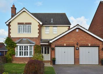 Thumbnail 4 bed detached house for sale in Longborns, Cranfield, Bedford