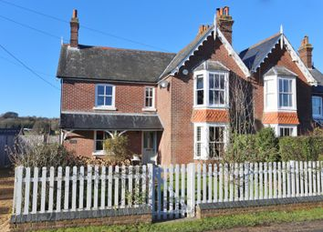 Thumbnail 5 bed semi-detached house for sale in Station Road, Soberton, Southampton