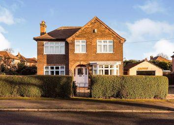 Thumbnail 3 bed detached house for sale in Ashworth Crescent, Nottingham, Nottinghamshire