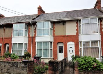 Thumbnail 3 bed terraced house to rent in Granville Avenue, Barnstaple