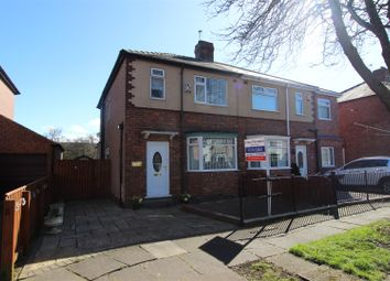 Thumbnail 3 bed semi-detached house for sale in Saltersgate Road, Darlington