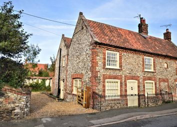 Thumbnail 3 bed semi-detached house for sale in High Street, Thornham, Hunstanton