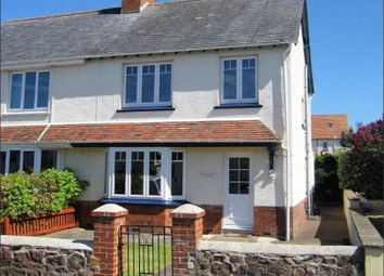 Thumbnail 3 bed property to rent in Fownes Road, Minehead