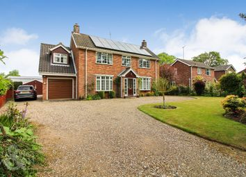 Thumbnail 4 bed detached house for sale in Farman Avenue, North Walsham