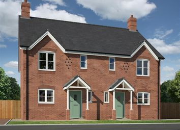 Thumbnail 3 bed semi-detached house for sale in Plot 5 Ashton Road, Condover