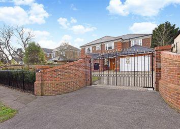 Thumbnail 5 bedroom detached house to rent in Ellesmere Road, Weybridge