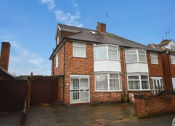 Thumbnail 3 bed semi-detached house for sale in Averil Road, Off Uppingham Road, Leicester