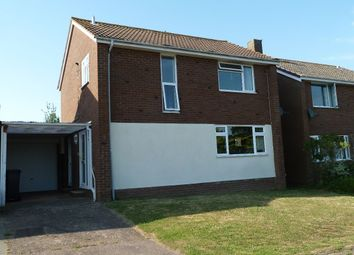 Thumbnail 3 bedroom detached house to rent in Walls Close, Exmouth