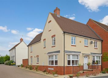 Thumbnail 4 bedroom semi-detached house for sale in Wall Brown Way, Aylesbury
