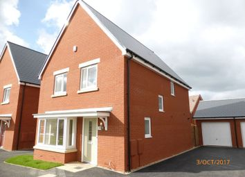 Thumbnail 4 bed detached house to rent in Greenfield Drive, Bishops Cleeve, Cheltenham
