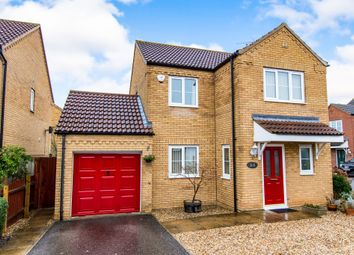 Thumbnail 4 bed detached house for sale in Heath Road, Navenby, Lincoln