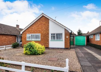 Thumbnail 2 bed bungalow for sale in Saltersgate Drive, Birstall, Leicester