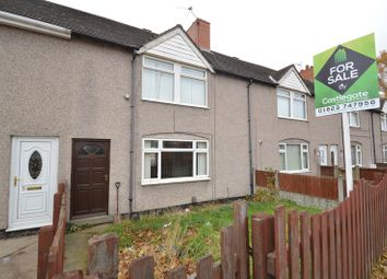 Thumbnail 3 bed terraced house for sale in First Avenue, Forest Town, Mansfield