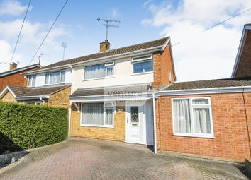 Thumbnail 3 bed semi-detached house for sale in Bosmore Road, Luton