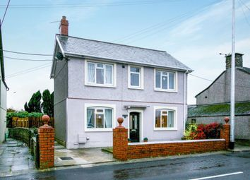 Thumbnail 3 bedroom detached house for sale in Cefn Road, Cefn Cribwr, Bridgend