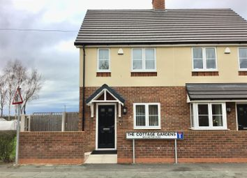Thumbnail 2 bed semi-detached house for sale in Wellington Road, Muxton, Telford
