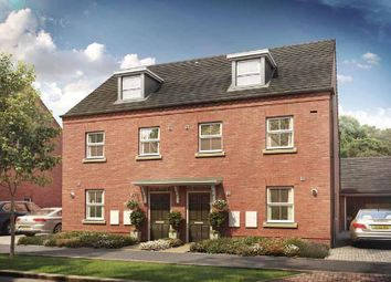 """Thumbnail 3 bed semi-detached house for sale in """"Nugent"""" at Briggington, Leighton Buzzard"""