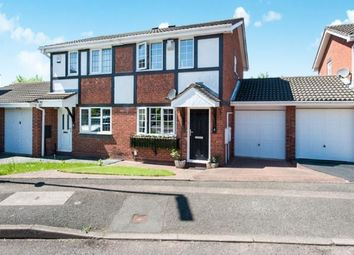 Thumbnail 2 bedroom semi-detached house for sale in Byland, Tamworth, Staffordshire, West Midlands