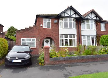 Thumbnail 4 bed semi-detached house for sale in Glendene Avenue, Bramhall, Stockport