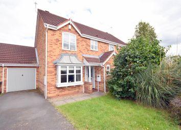 Thumbnail 3 bed semi-detached house for sale in Rockingham Road, Mountsorrel, Loughborough