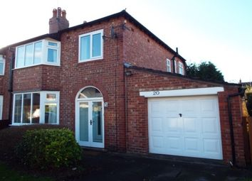 Thumbnail 3 bed property to rent in Birch Avenue, Wilmslow