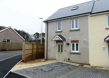 Thumbnail 4 bed end terrace house for sale in Maes Yr Orsaf, Narberth, Pembrokeshire