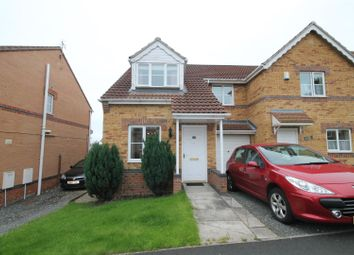 Thumbnail 3 bed semi-detached house to rent in Dickens Way, Crook