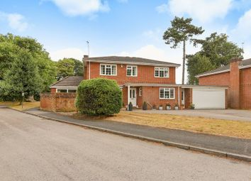 Thumbnail 5 bed detached house for sale in Romans Field, Silchester, Reading