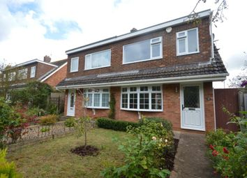 Thumbnail 3 bed semi-detached house to rent in Willsdown Road, Alphington, Exeter