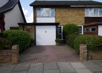 Thumbnail 3 bed semi-detached house for sale in South Crescent, Southend-On-Sea