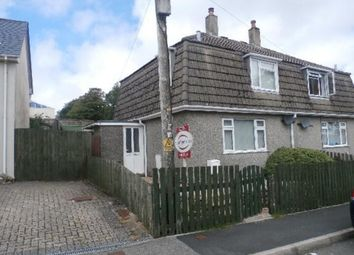 Thumbnail 3 bed semi-detached house to rent in Woodville Avenue, Princetown, Yelverton