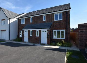 Thumbnail 2 bed semi-detached house for sale in Woodpecker Way, Shepshed, Leicestershire