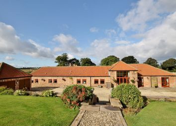 Thumbnail 4 bed barn conversion for sale in Ainderby Road, Romanby, Northallerton