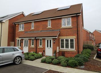 Thumbnail 3 bed semi-detached house for sale in Beach Drive, Shorehaven, Cosham, Portsmouth