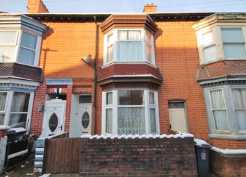 Thumbnail 3 bed terraced house to rent in Bramley Road, West End, Leicester