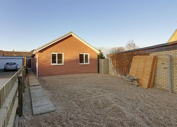 Thumbnail 2 bed detached bungalow for sale in Park Road, Deeping St. James, Peterborough