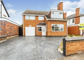 Thumbnail 4 bed detached house for sale in Curzon Avenue, Birstall, Leicester, Leicestershire