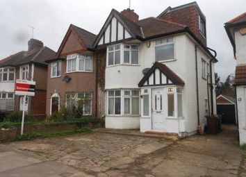 Thumbnail 4 bed semi-detached house for sale in Camrose Avenue, Edgware, Middlesex