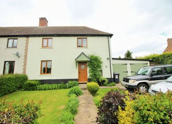 Thumbnail 3 bed semi-detached house to rent in West Bank, Main Street, Old Weston, Cambridgeshire.